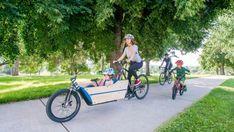 Parfait pour transporter vos enfants, vos courses, vos colis ou vos animaux de compagnie ? (Crédit : Lift Cargo Bike)