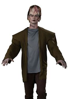 Bristol Novelty Brown Frankenstein Costume Adult Costume - Mens - One Size @ niftywarehouse.com #NiftyWarehouse #Geek #Horror #Creepy #Scary #Movies