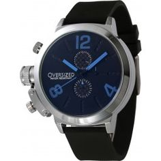 6807f703321 Relógio Masculino Esportivo Oversized Alpha 49mm (Blue). Relógios Oversized