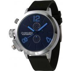 Relógio Masculino Esportivo Oversized Alpha 49mm (Blue)