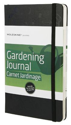 Moleskine Gardening Journal