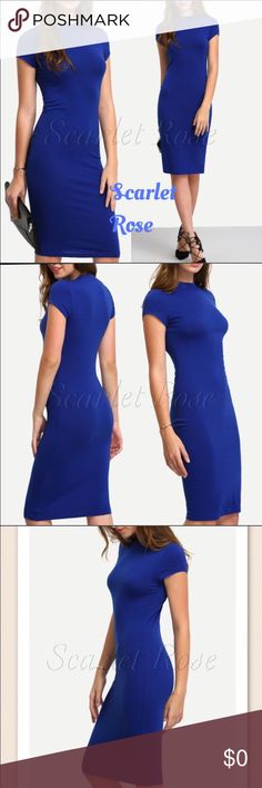 COMING SOON!! SUPER SOFT Blue Midi Dresses Details on this gorgeous dress coming soon!! 'Like' to be notified of arrival!! ❤️ Scarlet Rose Boutique Dresses Midi