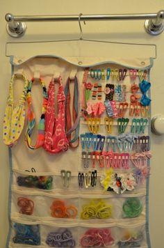 Organizing hair accessories Kid Stuff Pinterest Organizing
