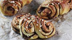Finnish Recipes, Doughnut, Nutella, Pancakes, Bread, Baking, Breakfast, Desserts, Food