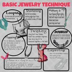 Premier Designs Basic Jewelry Technique in grey created by Sandra Sindeldecker.