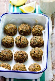 Recipe: Baked Red Lentil Falafel Salad — Recipes from The Kitchn | The Kitchn