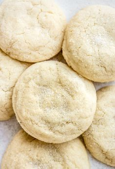 The softest vanilla sugar cookies in the world!