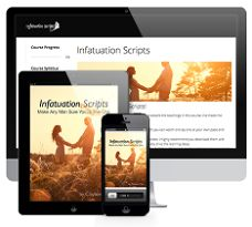 Infatuation Scripts is a new relationship and dating course that was created by Clayton Max. This review at AffairNet explains more about the techniques shared in the guide and about its pros and cons  - http://www.affairnet.com/clayton-max-infatuation-scripts-review/