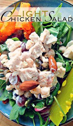 Light Chicken Salad Recipe – Simply Taralynn