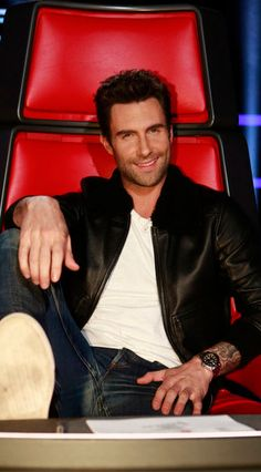 Adam Levine and The Voice won the Wednesday night ratings war.  (NBC Photo)