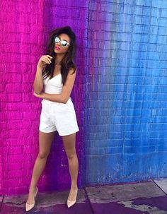Rompers are the perfect summer outfit to wear on a daily basis! | Pretty Little Liars
