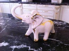 Elefant cu pietre swarovsky