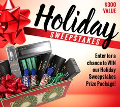 Win a $300 Holiday Prize Package