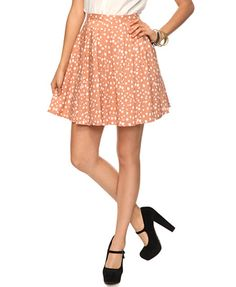 Forever 21 Essential Circle Skirt, only $15.80!!!! I want <3