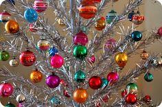 color wheel aluminum christmas tree - Google Search
