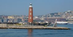 Naples Lighthouse and Castel dell Ovo Naples, Italy Naples Italy, San Francisco Ferry, Lighthouse, Things To Do, Tours, Activities, Building, Check, Places