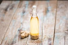 Ginger Lemonade, Herbal Oil, Pasta, Diy Food, Vinaigrette, Food Inspiration, Vinegar, Love Food, Natural Remedies