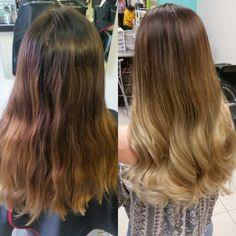 #Balayage cabello cuidado con #Olaplex #byYubia y KarenLCSalon