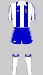fc porto 1987 european cup final kit