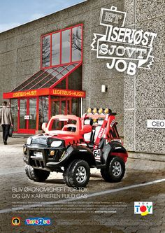 employer branding for TOP-TOY by Jesper Toldam and Kasper Sierslev