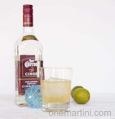 cinnamon infused tequila cocktail