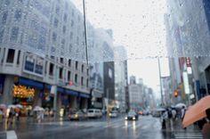 Raining Ginza