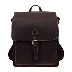 108.64$  Buy now - http://alikyd.worldwells.pw/go.php?t=32675769408 - ROCKCOW Vintage Leather Backpack, School Backpack 6963 108.64$