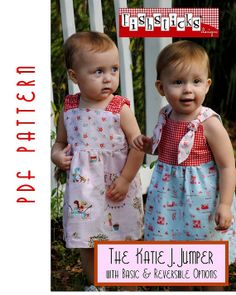 PDF Sewing Pattern The Katie J. Jumper by FishsticksDesigns, $9.75
