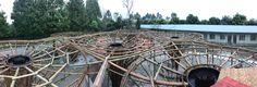 Gallery of The Bamboo Garden / Atelier REP - 18 Galeria de O Bambusgarten / Atelier REP - 18 Foster Architecture, Bamboo Architecture, Amazing Gardens, Beautiful Gardens, Bamboo Structure, Bamboo Design, Bamboo Plants, Diy Garden Decor, Installation Art