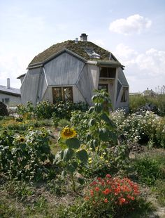 Hallingelille ecovillage in Denmark