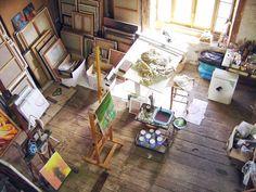 Tu Organizas.: Ateliê de Artista