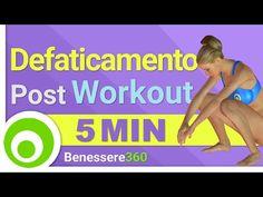Esercizi di Defaticamento post Allenamento - YouTube
