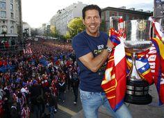 Club Atlético de Madrid. Campeón Copa del Rey 2013