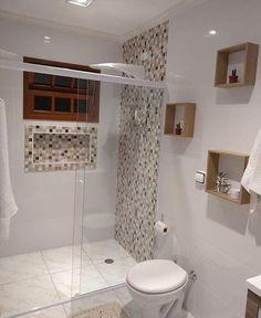 Trendy Home Plans Simple Bathroom Ideas Bathroom Design Small, Simple Bathroom, Bathroom Interior Design, Modern Bathroom, Small Bathrooms, Bathroom Designs, Bad Inspiration, Bathroom Inspiration, Bathroom Toilets