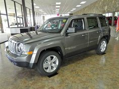 2014 Jeep Patriot Grey