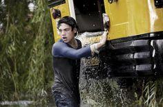 "Dylan Sprayberry plays 14-year-old Clark Kent in ""Man of Steel."" (Clay Enos / Warner Bros.)"