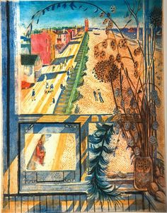 Bawden,  Aldeburgh from the Tower.