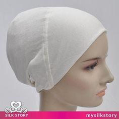 New Cotton Lycra Turban Under Scarf Shawl Wrap Hijab Bonnet /
