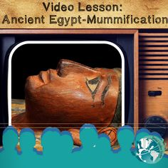Perfect grab and go lesson for teachers! Lesson features video link, activity worksheets, note taking strategies, discussion prompts, 4 depths of knowledge questions, and project ideas all about mummification.