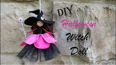 Halloween Diy, Halloween Decorations, Fairy Dolls, Diy Doll, Elves, Keychains, Gnomes, Fairies, Witch