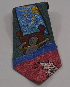 Mens Necktie Tie Silk Beatles USA 1991 Apple Record Good Morning Manhattan Rock   eBay