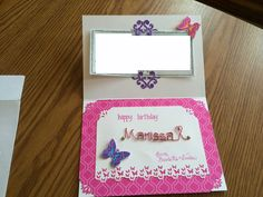 Marissa birthday - inside