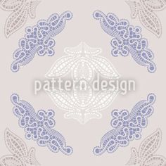 Fancy Lace designed by Liljana Panjtar, vector download available on patterndesigns.com