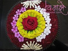 Check out the top 20 easy rangoli designs for kids and how they can create rangoli designs in no time and help them improve their creativity skills. Diwali Decorations, Festival Decorations, Balloon Decorations, Flower Decorations, Diwali Craft, Diwali Rangoli, Decoration For Ganpati, Flower Rangoli, Floating Flowers