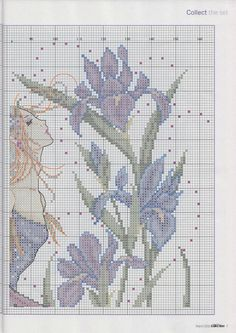 Iris Fairy - 4/6  PUNTADITAS (pág. 32) | Aprender manualidades es facilisimo.com
