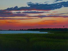 After the sunset - Jose Jimenez Fine Art | Landscape Artist