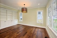 Custom Dark Stained Hickory Flooring - traditional - other metro - by Mountain Lumber Company Hickory Wood Floors, Staining Wood Floors, Stain Wood, Hardwood Floor Colors, Hardwood Floors, Farmhouse Style Decorating, Interior Decorating, Interior Ideas, Decorating Ideas