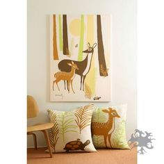 for the kids room - we already talked about doing different animal print tracks :)
