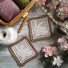 This doily has 16 rounds. Finished size is about The doilies pictured are made using Aunt Lydias cotton crochet thread in the c. Bunny Crochet, Easter Crochet Patterns, Cotton Crochet, Thread Crochet, Crochet Stitches, Crochet Mandala, Crochet Motif, Crochet Doilies, Treble Crochet Stitch