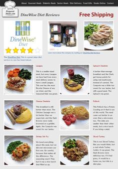 If You're Looking for Prepared Diet Meals without having to Sign a Contract or Agree to Automatic Deliveries, our DineWise Diet Review will Help You Find the Best Prepared Meals for Weight Loss. Learn More at: http://www.prepared-meals.com/Diet-Delivery/DineWise-Diet-Reviews.html